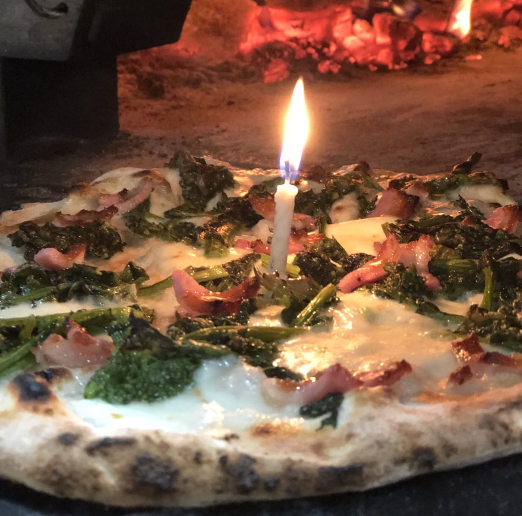 Free cheese pizza special ON your Birthday at That's Amore in Boynton Beach